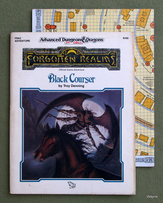 Image for Black Courser (Advanced Dungeons & Dragons: Forgotten Realms Module FRA2) - PLAY COPY