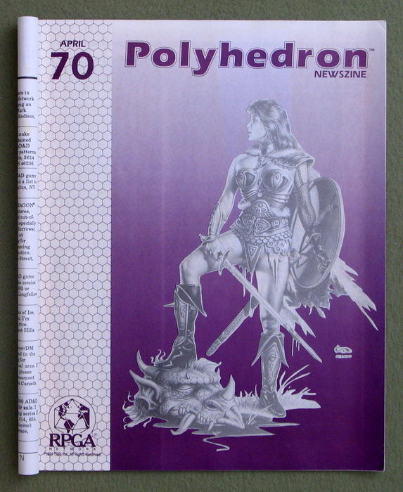 Image for Polyhedron Magazine, Issue 70