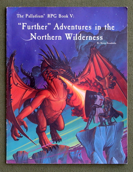 Image for Further Adventures in the Northern Wilderness (Palladium RPG Book V)