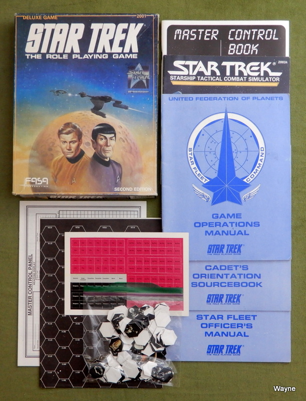 Image for Star Trek: The Role Playing Game (Deluxe Game: Second Edition)