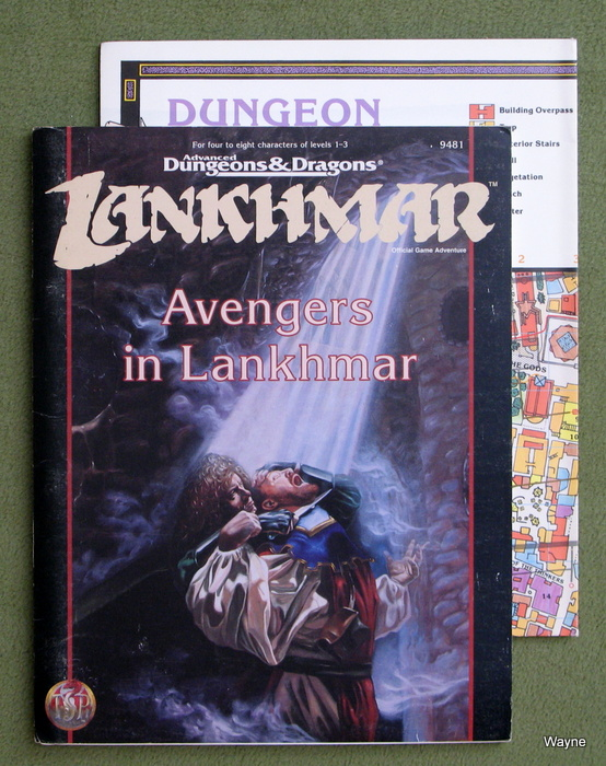 Image for Avengers in Lankhmar (Advanced Dungeons & Dragons Adventure)