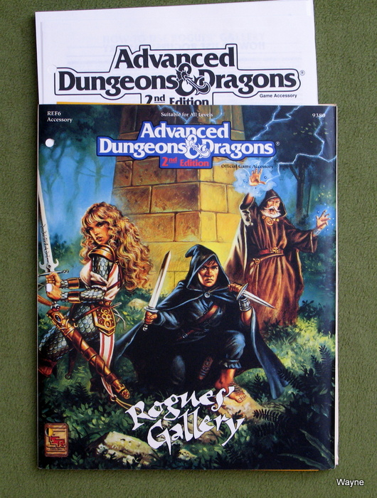 Image for Rogues' Gallery (Advanced Dungeons & Dragons Accessory REF6)