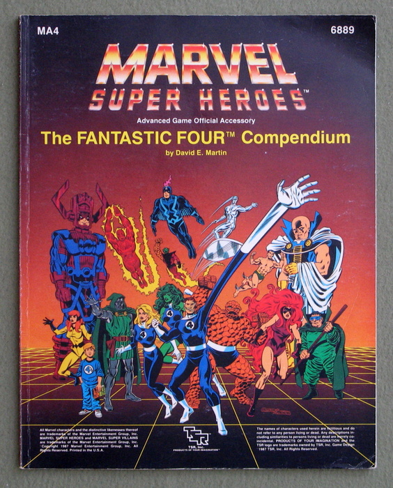 Image for The Fantastic Four Compendium (Marvel Super Heroes Accessory MA4)