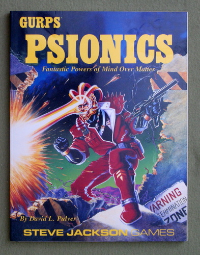 GURPS Psionics: Fantastic Powers of Mind Over Matter