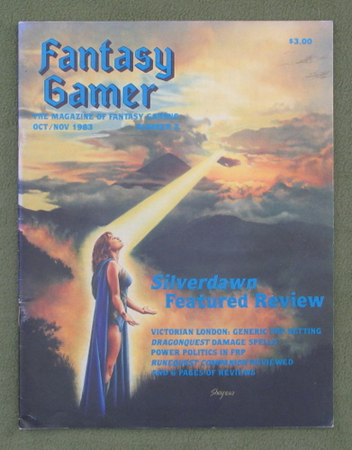 Image for Fantasy Gamer, Number 2: The Magazine of Fantasy Gaming (Oct/Nov 1983)