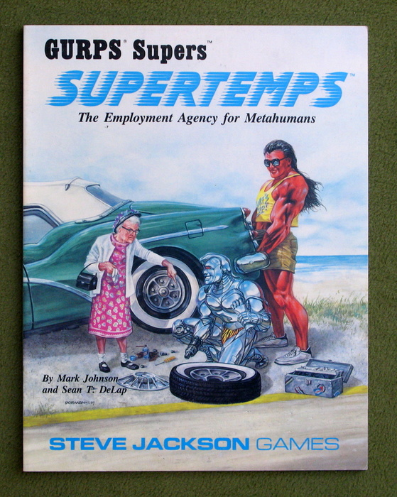 Image for Supertemps: The Employment Agency for Metahumans (GURPS Supers)