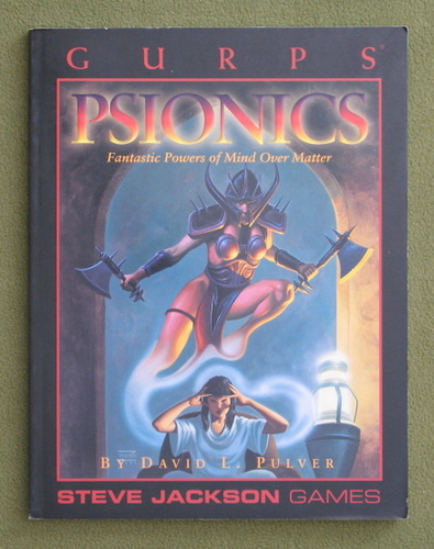 Image for GURPS Psionics