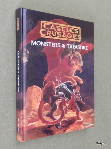 Image for Monsters & Treasure: 5th Printing (Castles & Crusades)