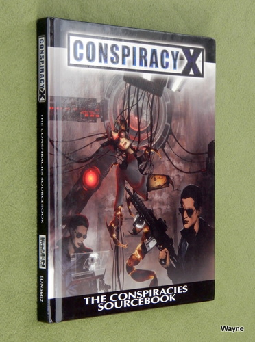 Image for Conspiracies Sourcebook (Conspiracy X 2.0)