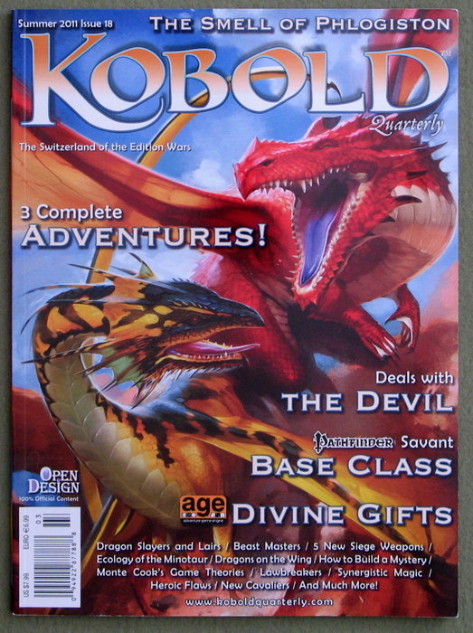Image for Kobold Quarterly Magazine, Issue 18