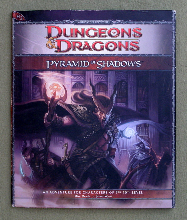 Image for Pyramid of Shadows (Dungeons & Dragons, Adventure H3)
