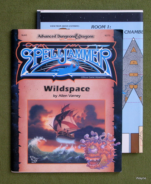 Image for Wildspace (Advanced Dungeons & Dragons: Spelljammer Module SJA1)
