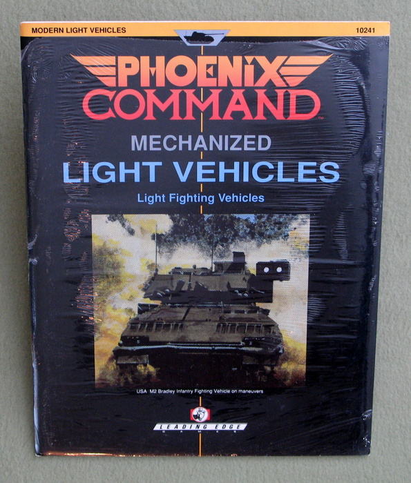 Image for Light Vehicles/Light Fighting Vehicles (Phoenix Command Mechanized)