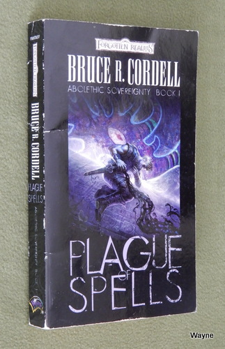 Image for Plague of Spells (Forgotten Realms: Abolethic Sovereignty, Book 1)