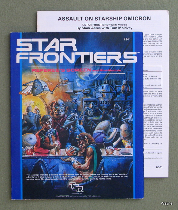 Image for Star Frontiers Referee's Screen and Mini-Module