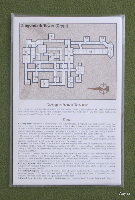 Image for MAP CARD SET: Ruins of Myth Drannor (AD&D: Forgotten Realms)