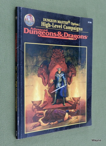 Image for Dungeon Master Option: High-Level Campaigns (Advanced Dungeons & Dragons, 2nd Edition, Revised)