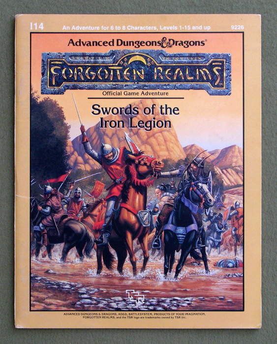 Image for Swords of the Iron Legion: Module I14 (Advanced Dungeons & Dragons Battlesystem Adventure Anthology) - PLAY COPY