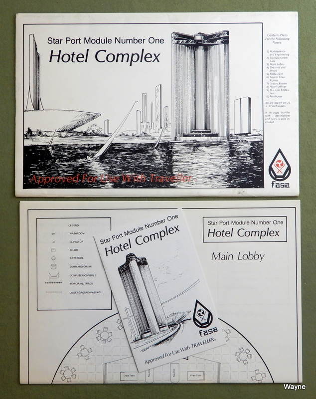 Image for Hotel Complex: Star Port Module Number One (Traveller RPG)