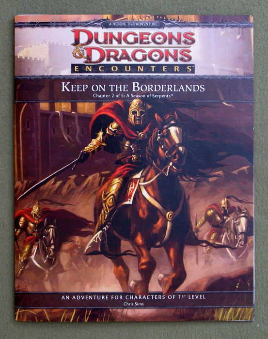 Image for Keep on the Borderlands, Chapter 2 of 5: A Season of Serpents (Dungeons & Dragons Encounters)