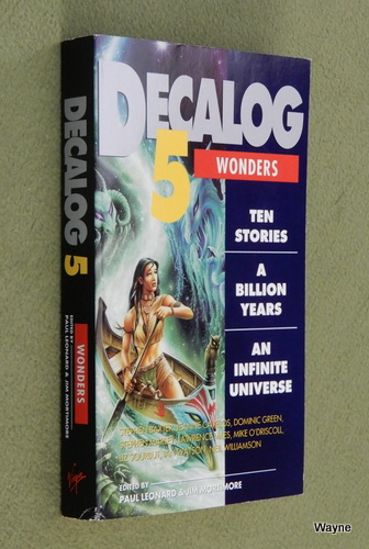 Image for Decalog 5: Wonders : Ten Stories a Billon Years an Infinite Universe (Doctor Who)