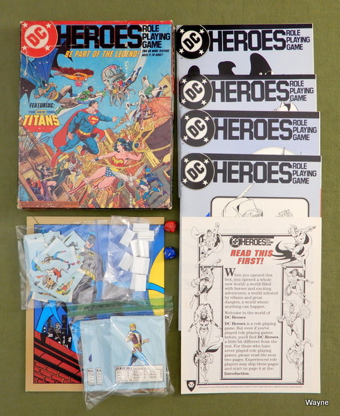 Image for DC Heroes Role Playing Game (1st edition)