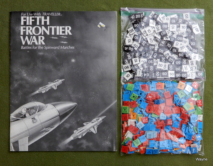 Image for Fifth Frontier War: Booklet and Counters (Traveller)
