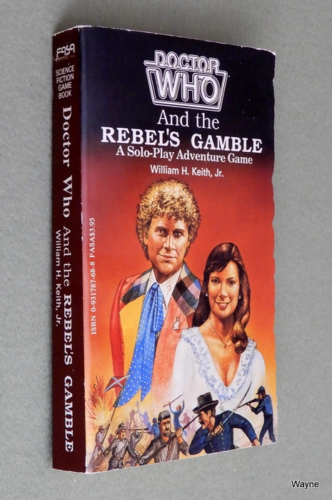 Image for Doctor Who and the Rebel's Gamble (A Solo-Play Adventure Game)