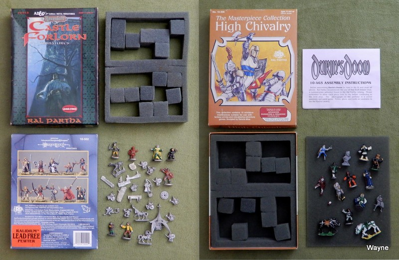 Image for High Chivalry: Masterpiece Collection & Castle Forlorn (Ravenloft) - MIXED SETS - D&D metal miniatures
