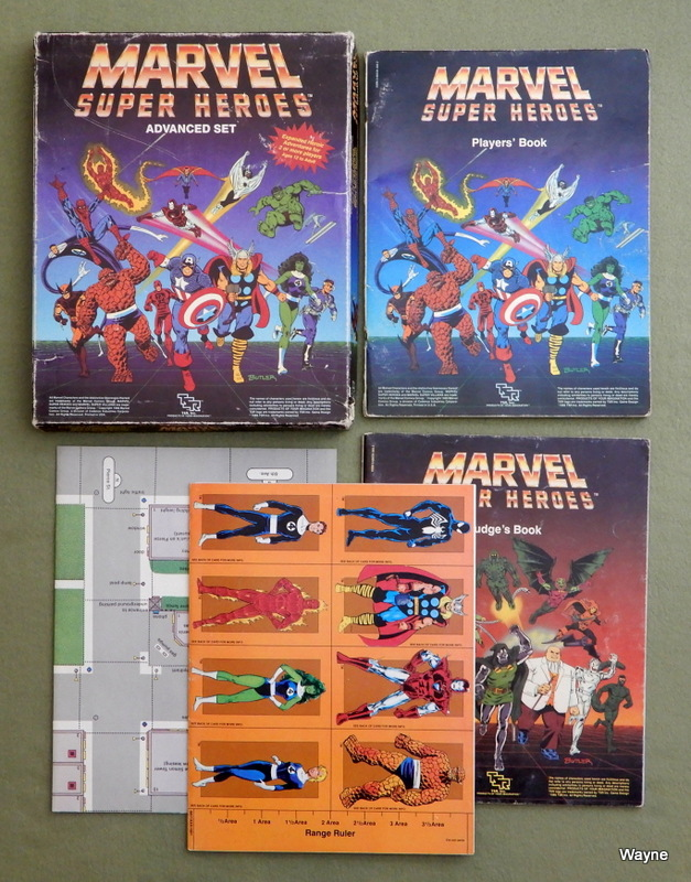 Image for Marvel Super Heroes: Advanced Set - PLAY SET