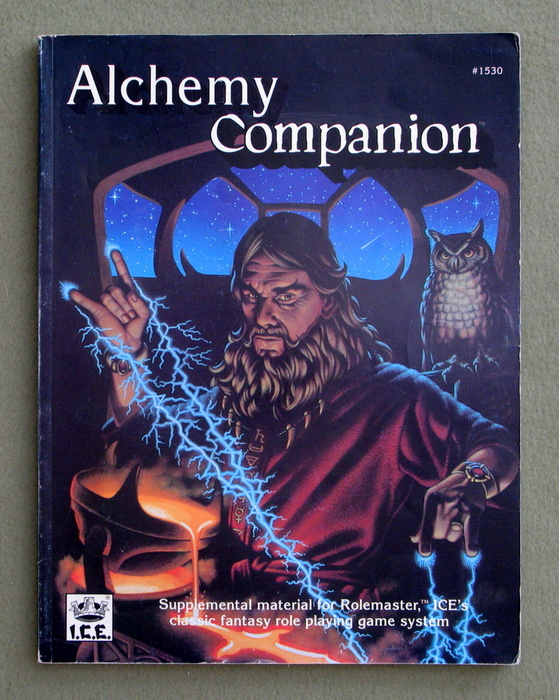 Image for Alchemy Companion (Rolemaster)