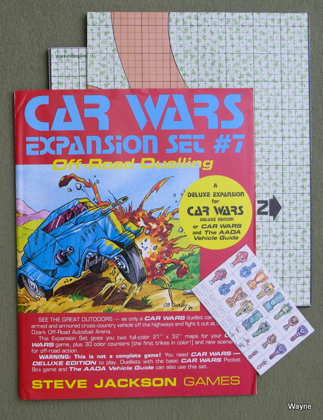 Image for Car Wars Expansion Set #7: Off-Road Dueling