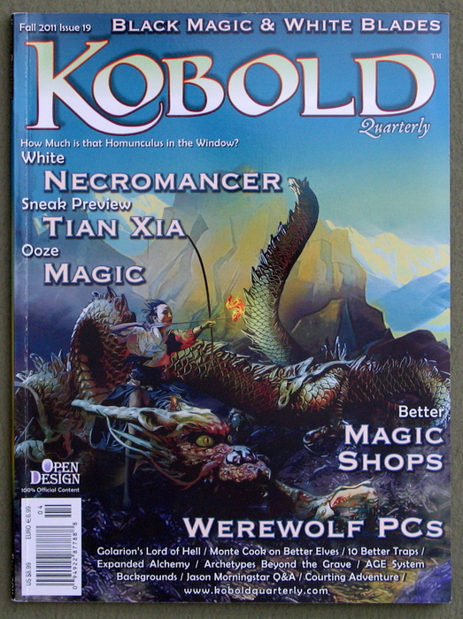 Image for Kobold Quarterly Magazine, Issue 19