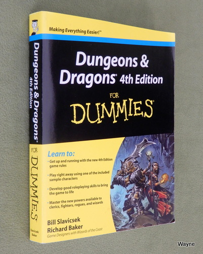 Image for Dungeons and Dragons 4th Edition For Dummies