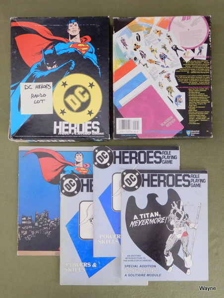 Image for DC Heroes RPG Rando Lot