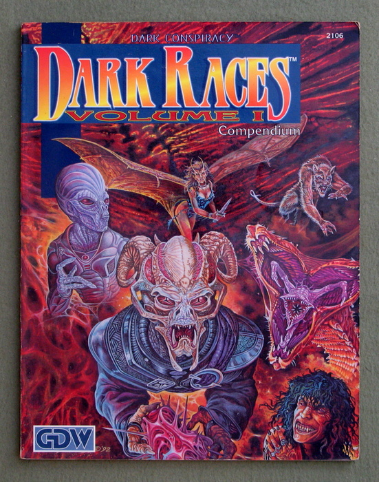 Image for Dark Races, Vol. 1 (Dark Conspiracy role playing game)