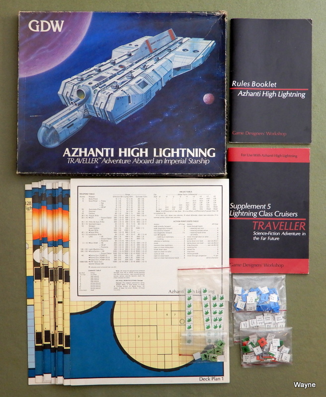 Image for Azhanti High Lightning: Traveller Adventure Aboard an Imperial Starship