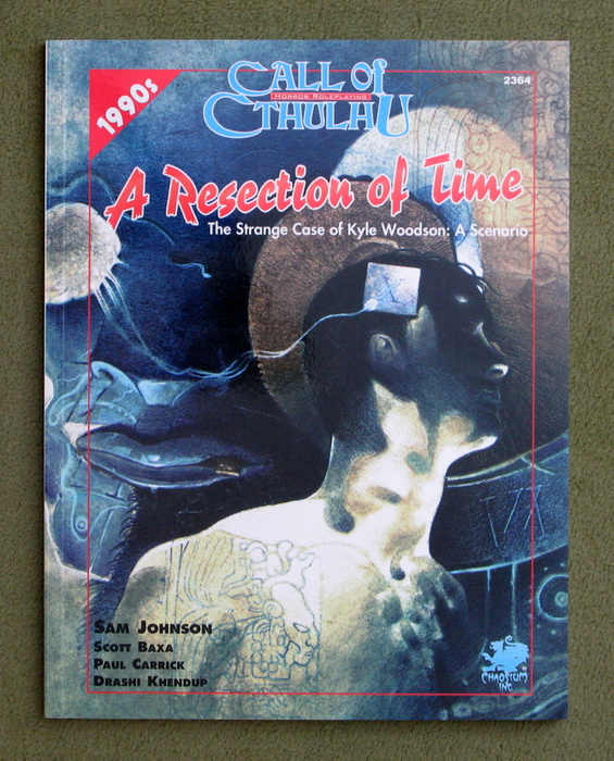 Image for Resection of Time (Call of Cthulhu)