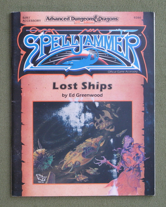 Image for Lost Ships (Advanced Dungeons & Dragons/Spelljammer Accessory SJR1) - NO MAP