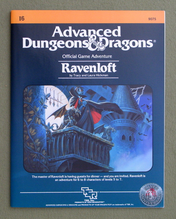 Image for Ravenloft (Advanced Dungeons & Dragons Module I6) - SILVER ANNIVERSARY EDITION