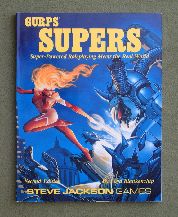 Image for GURPS Supers: Super-Powered Roleplaying Meets the Real World (2nd Edition)