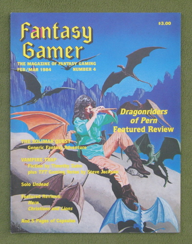 Image for Fantasy Gamer, Number 4: The Magazine of Fantasy Gaming (Feb/Mar 1984)
