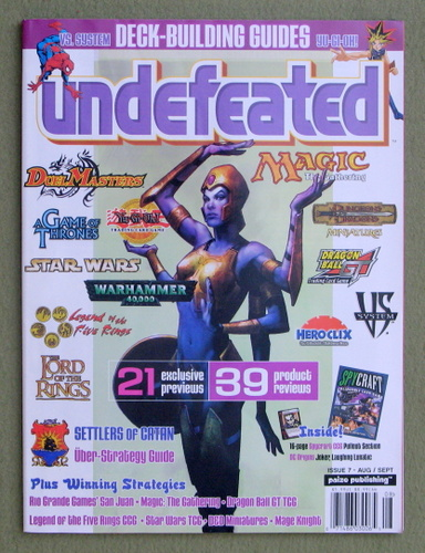 Image for Undefeated Magazine, Issue 7 (Aug/Sept 2004)
