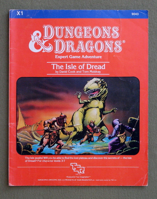 Image for The Isle of Dread (Dungeons & Dragons Adventure X1)