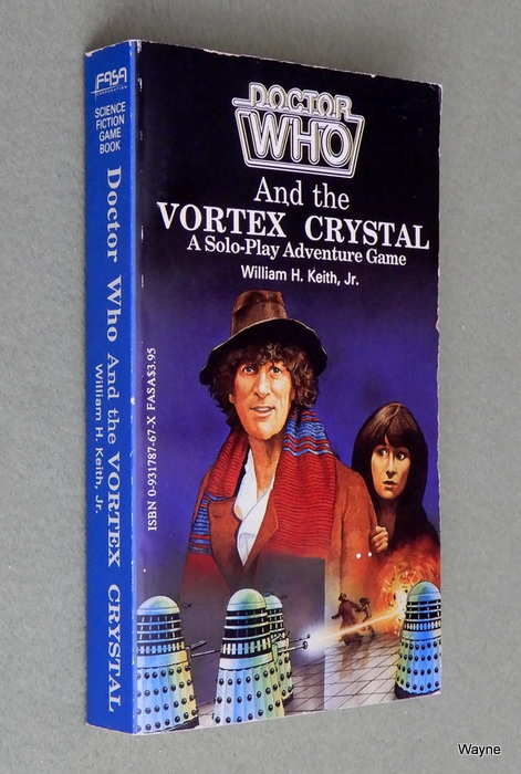 Image for Doctor Who and the Vortex Crystal (A Solo-Play Adventure Game)