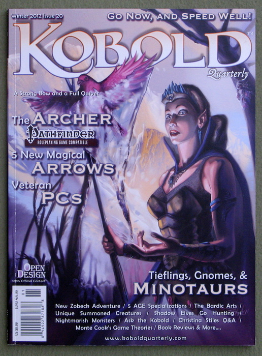 Image for Kobold Quarterly Magazine, Issue 20
