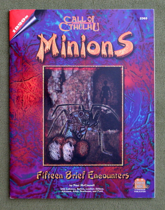 Image for Minions: Fifteen Brief Encounters (Call of Cthulhu)