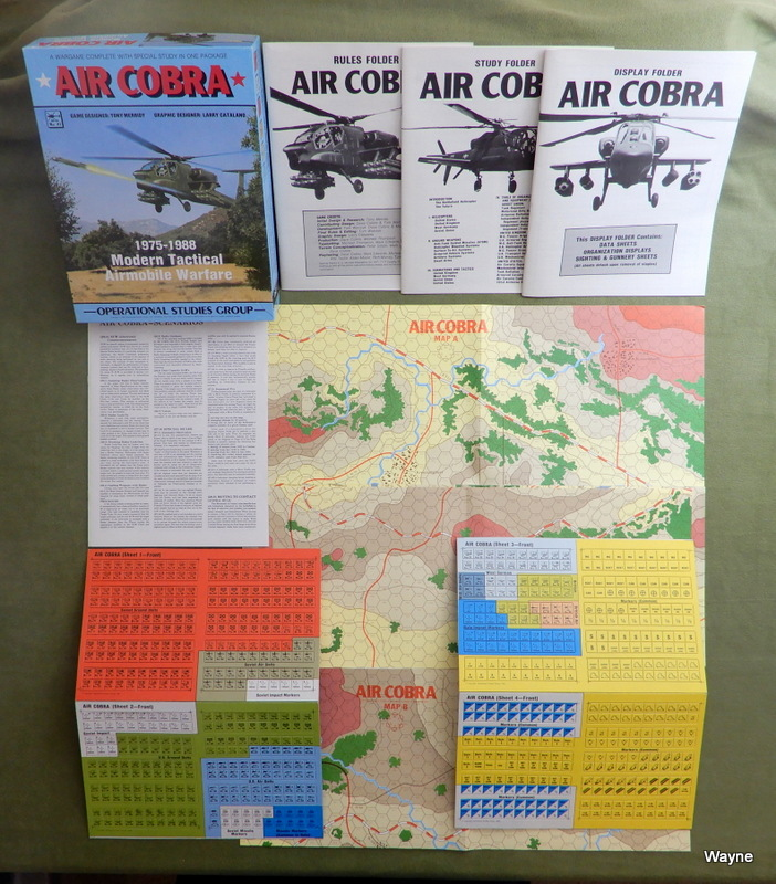 Image for Air Cobra: 1975-1988 Modern Tactical Airmobile Warfare Game