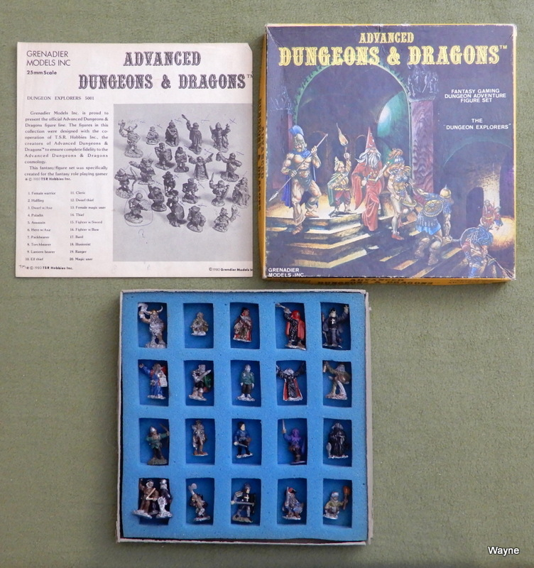 Image for Dungeon Explorers: Advanced Dungeons & Dragons Metal Miniature Figure Set (25mm Scale)