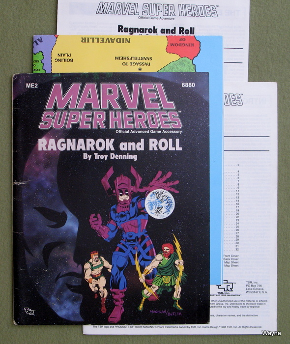 Image for Ragnarok and Roll (Marvel Super Heroes Module ME2)